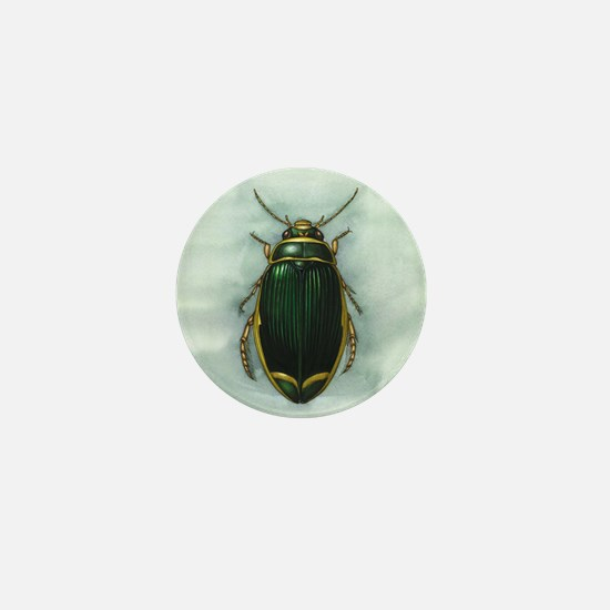 Great diving beetle, artwork Mini Button