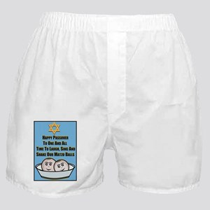 Happy Passover Matzo Boxer Shorts