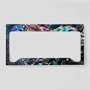 Goethite crystals License Plate Holder