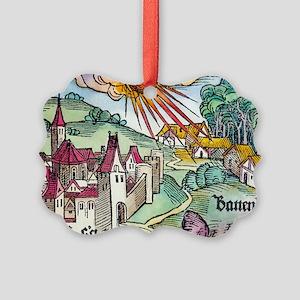 Ensisheim meteor fall, 1492 Picture Ornament