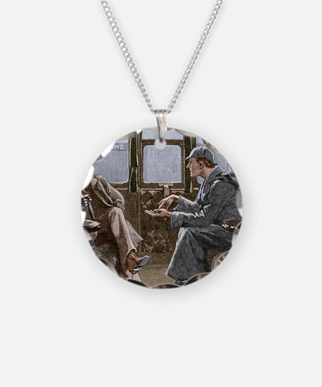 Sherlock Holmes and Dr. Wats Necklace