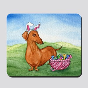 Easter Weiner Dog Mousepad