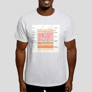 Skin disorders, artwork Light T-Shirt