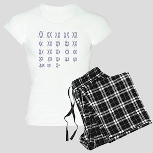 Male Down's syndrome karyot Women's Light Pajamas