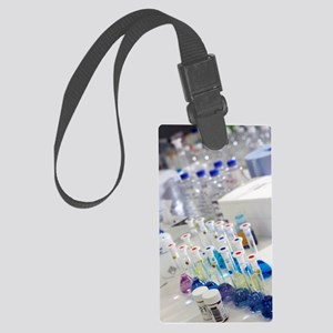 Water purity test Large Luggage Tag