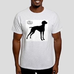 Vizsla Silhouette Light T-Shirt