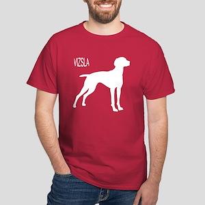 Vizsla Silhouette Dark T-Shirt