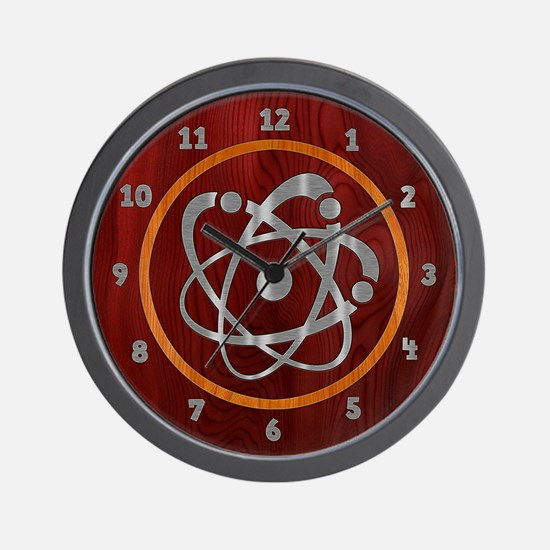 atom-steelwood-CLK Wall Clock