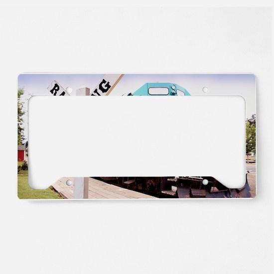 Mount Hood Railroad License Plate Holder