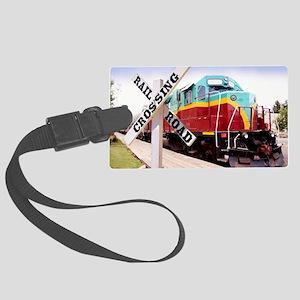 Mount Hood Railroad Large Luggage Tag
