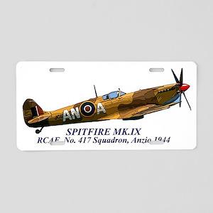 Spitfire Mk.IX RCAF Aluminum License Plate