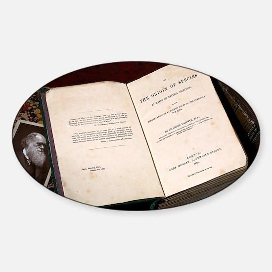 1859 First Edition Origin of Specie Sticker (Oval)