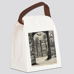 1788 Richard Greene's Museum at L Canvas Lunch Bag