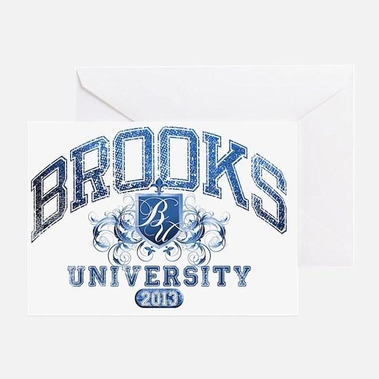 Brooks last name University Class of Greeting Card