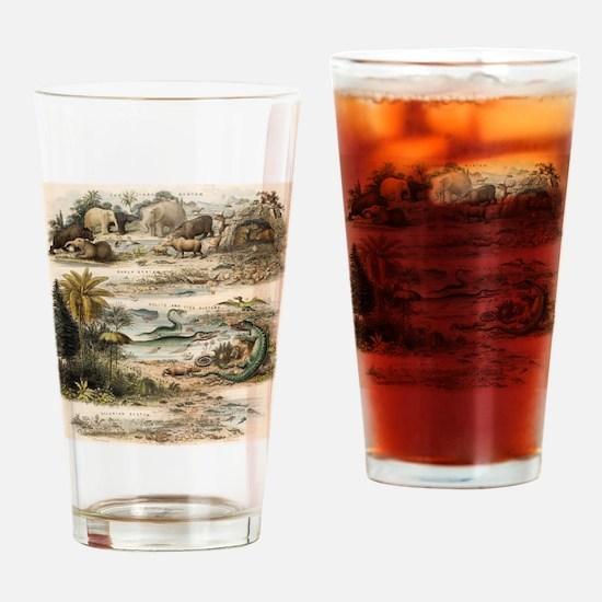 1849 The antidiluvian world by reyn Drinking Glass