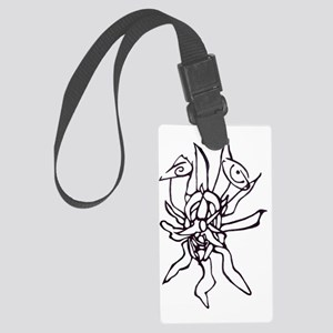 Breath of Fire Large Luggage Tag