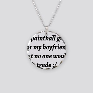 BST boyfriend Necklace Circle Charm
