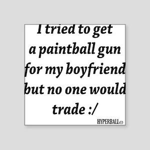 """BST boyfriend Square Sticker 3"""" x 3"""""""
