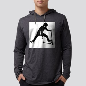 scooter scootering skater design Long Sleeve T-Shi