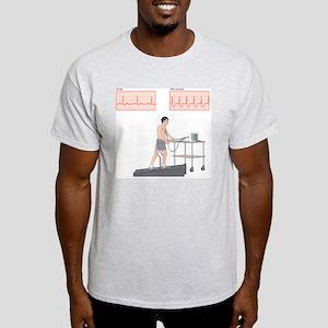 Cardiac stress test, artwork Light T-Shirt