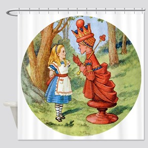 Alice The Red Queen_RD Shower Curtain