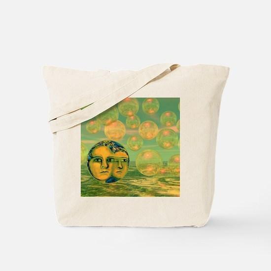 Consciousness King Duvet-8064wx6912h Tote Bag