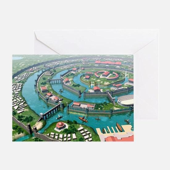 Atlantis, artwork Greeting Card
