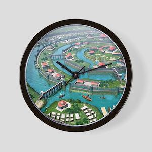 Atlantis, artwork Wall Clock