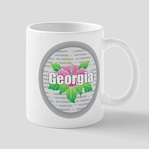 Georgia Hibiscus Mugs