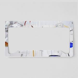 Chemistry apparatus License Plate Holder