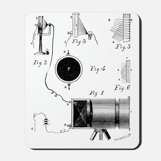 Carey's selenium camera, artwork Mousepad