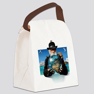 Charles Darwin, British naturalis Canvas Lunch Bag
