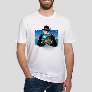 Charles Darwin, British naturalist Fitted T-Shirt