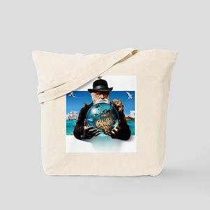 Charles Darwin, British naturalist Tote Bag