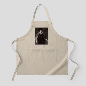 Francis Bacon, English philosopher Apron