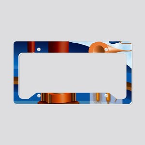 Bacterial flagellum structure License Plate Holder
