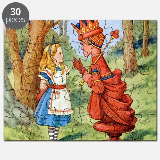 Alice The Red Queen_SQ Puzzle