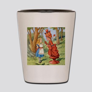 Alice The Red Queen_SQ Shot Glass