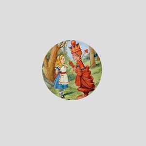 Alice The Red Queen_SQ Mini Button