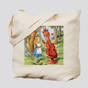Alice The Red Queen_SQ Tote Bag