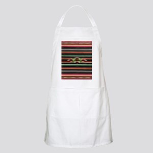 Vintage Black Mexican Serape Apron