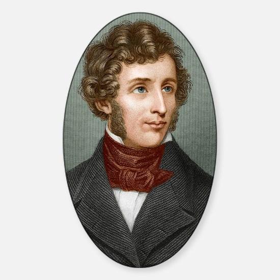 Friedrich Wohler (1800-1882) Sticker (Oval)