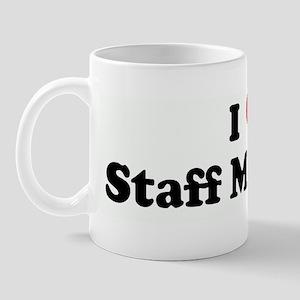 I Love Staff Meetings Mug