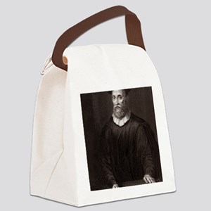 John Knox, Scottish theologian Canvas Lunch Bag