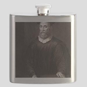 John Knox, Scottish theologian Flask