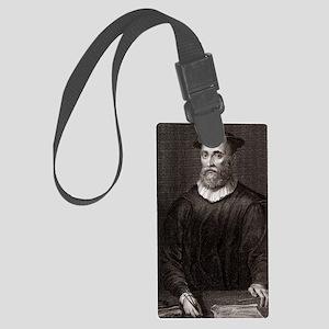 John Knox, Scottish theologian Large Luggage Tag