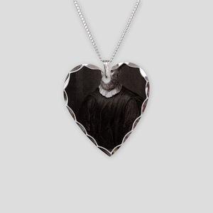 John Knox, Scottish theologia Necklace Heart Charm