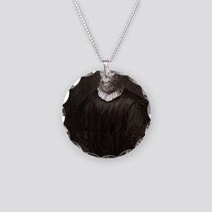 John Knox, Scottish theologi Necklace Circle Charm