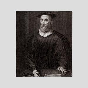 John Knox, Scottish theologian Throw Blanket