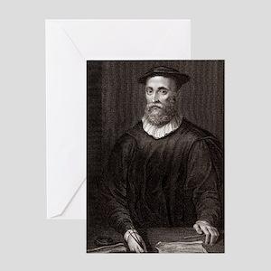 John Knox, Scottish theologian Greeting Card